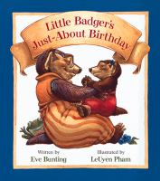 Little Badger's Just-about Birthday