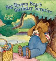 Big Brown Bear's Birthday Surprise