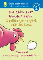 The Chick That Wouldn't Hatch