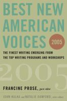 Best New American Voices 2005