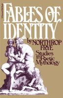 Fables of Identity