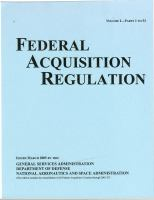Title 48, Federal Acquisition Regulations System