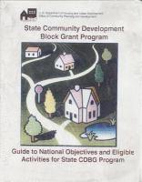 State Community Development Block Grant Program