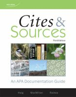 Cites & Sources