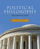 Political Philosophi The Essential Texts (3rd)
