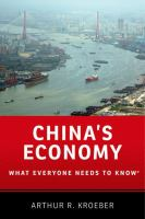 China's economy : what everyone needs to know