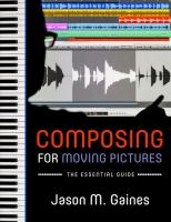 Composing for Moving Pictures