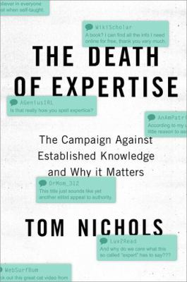 Cover image for The Death of Expertise