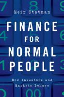 Finance for Normal People