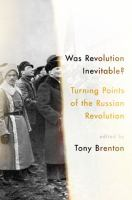 Was Revolution Inevitable?