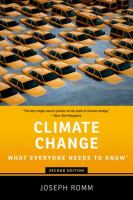 Climate Change :\bwhat Everyone Needs To Know