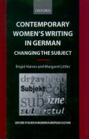 Contemporary Women's Writing in German