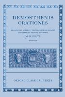 Demosthenis orationes