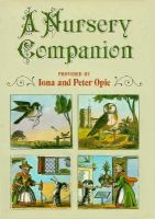 Nursery Companion  / Provided By Iona And Peter Opie