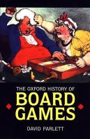 The Oxford History of Board Games