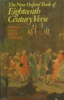 The New Oxford Book of Eighteenth Century Verse