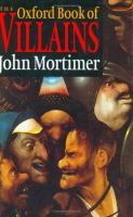 The Oxford Book of Villains
