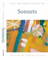 Oxford Book of Sonnets