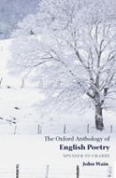 The Oxford Anthology of English Poetry