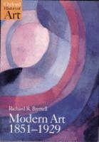Modern Art, 1851-1929