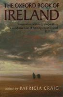 The Oxford Book of Ireland
