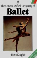 The Concise Oxford Dictionary of Ballet