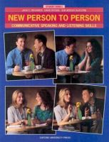 New Person to Person Student Book