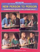 New Person to Person Student Book 2