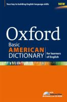 Oxford Basic American Dictionary