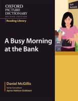 A Busy Morning at the Bank