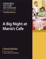 A Big Night at Maria's Café