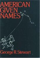American Given Names