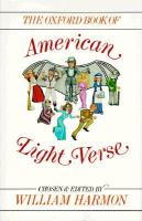 Oxford Book Of American Light Verse
