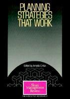 Planning Strategies That Work