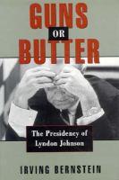 Guns or Butter