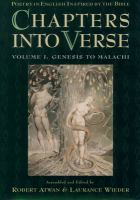 Chapters Into Verse