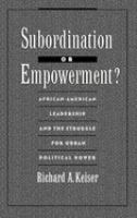 Subordination or Empowerment?