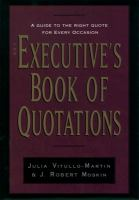 The Executive's Book of Quotations