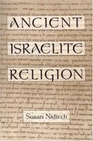 Ancient Israelite Religion