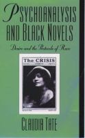 Psychoanalysis and Black Novels