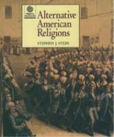 Alternative American Religions