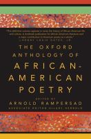 The Oxford Anthology of African-American Poetry