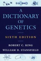 A Dictionary of Genetics