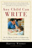 Any Child Can Write