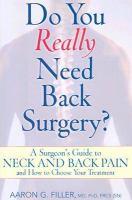 Do You Really Need Back Surgery?