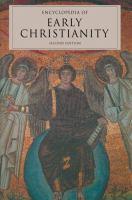 Encyclopedia of the Early Church