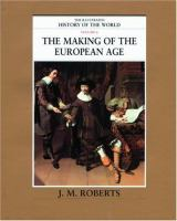 The Making of the European Age