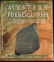 The Mystery Of Hieroglyphs