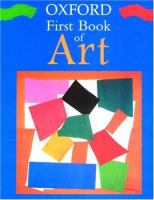 Oxford First Book of Art