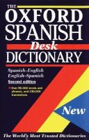 The Oxford Spanish Desk Dictionary